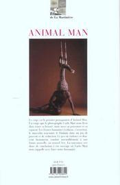 Animal Man - Regards Sur L'Intimite Des Corps - 4ème de couverture - Format classique