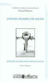 Contes Swahili De Kilwa ; Hadithi Za Kiswahili Kutoka Kilwa - Intérieur - Format classique