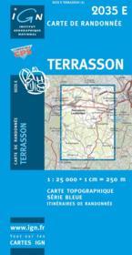 Terrasson ; Lavilledieu - Couverture - Format classique