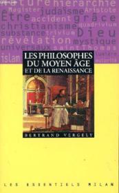 La Philosophie De La Renaissance Et Du Moyen Age - Couverture - Format classique