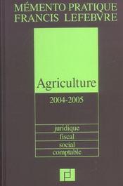 Agriculture - Intérieur - Format classique