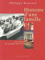 Histoire d'une famille - Intérieur - Format classique
