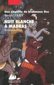 Nuit blanche à Madras - Intérieur - Format classique