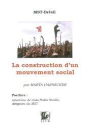 Mst bresila : la construction d'un mouvement social - Couverture - Format classique