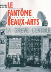 Le Fantome Des Beaux Arts - Couverture - Format classique