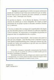 Socrate Est Un Homme : Essai - 4ème de couverture - Format classique