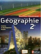 telecharger Geographie – 2de – livre de l'eleve – 2010 livre PDF/ePUB en ligne gratuit