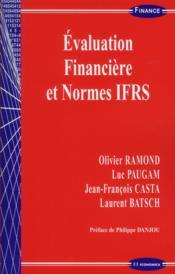 Évaluation financière et normes IFRS - Couverture - Format classique
