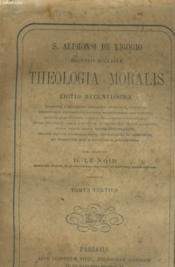 Theologia Moralis - Tomus Tertius - Couverture - Format classique