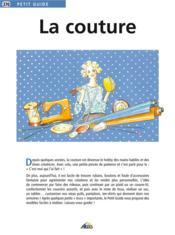 La couture - Couverture - Format classique