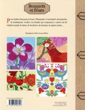Bouquets et fleurs - 4ème de couverture - Format classique