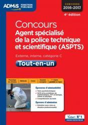 Concours agent spécialisé de la police technique et scientifique ; catégorie C (4e édition) - Couverture - Format classique