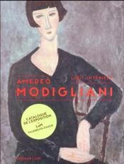 Amedeo Modigliani, une rétrospective - Couverture - Format classique