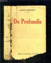 De Profundis - Couverture - Format classique