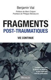 Fragments post-traumatiques - Couverture - Format classique