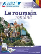 Le roumain ; débutants et faux-débutants B2 - Couverture - Format classique
