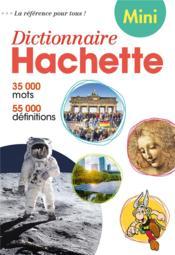 Mini dictionnaire hachette français - Couverture - Format classique