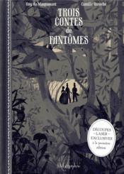 Trois contes de fantômes - Couverture - Format classique
