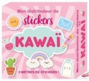 Mon distributeur de stickers ; kawaï - Couverture - Format classique