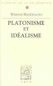 Platonisme et idealisme - Intérieur - Format classique