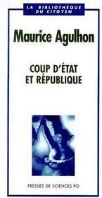 Coup d'état et république - Couverture - Format classique