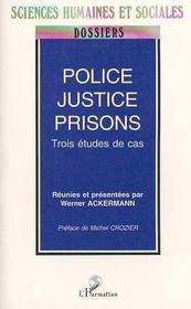 Police, Justice, Prisons - Intérieur - Format classique