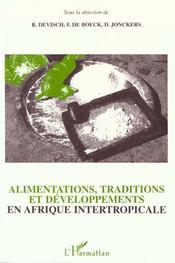 Alimentations Traditions Etdeveloppements En Afrique - Intérieur - Format classique