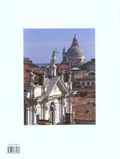 Venise, vue de ses companiles - 4ème de couverture - Format classique