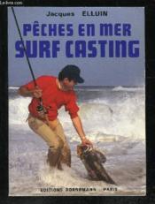 Surf casting peches en mer - Couverture - Format classique