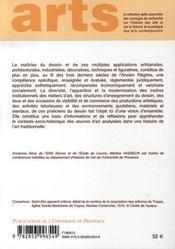 Vivre des arts du dessin ; france, xvi-xviii siècle - 4ème de couverture - Format classique
