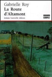 La route d'Altamont - Couverture - Format classique