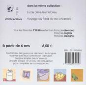 Le Coq Qui N'Avait Pas Chante Francais-Allemand - 4ème de couverture - Format classique