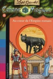Les carnets de la cabane magique T.8 ; au temps des Romains - Couverture - Format classique