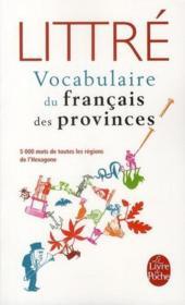Le vocabulaire du français des provinces - Couverture - Format classique