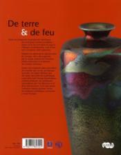 De terre et de feu ; l'aventure de la céramique européenne à Limoges - 4ème de couverture - Format classique