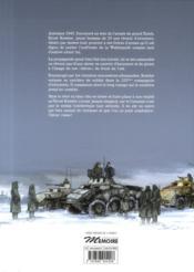 L'armée de l'ombre T.1 ; l'hiver russe - 4ème de couverture - Format classique