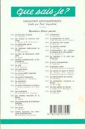 Iad - la cour d'assises qsj 2497 - 4ème de couverture - Format classique