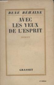 Avec Les Yeux De Lesprit. - Couverture - Format classique
