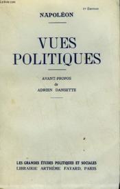 Vues Politiques. - Couverture - Format classique
