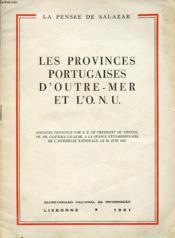 Les Provinces Portugaises D Outre Mer Et L O.N.U. - Couverture - Format classique