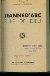 Jeanne D'Arc, Fille De Dieu - Couverture - Format classique