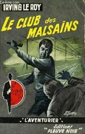 Le Cul Des Malsains - Couverture - Format classique