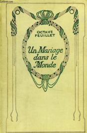 Un mariage dans le monde. - Couverture - Format classique