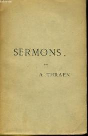 Sermons - Couverture - Format classique