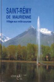 Saint-remy de maurienne - Couverture - Format classique