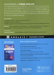 HU LANGUES ; initiation au thème anglais - 4ème de couverture - Format classique