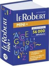 Dictionnaire le Robert ; langue française - Couverture - Format classique