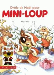 Drôle de Noël pour Mini-Loup - Couverture - Format classique