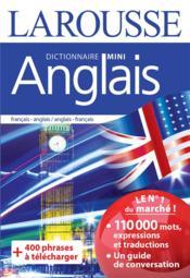 Dictionnaire mini anglais - Couverture - Format classique