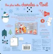 Les plus belles chorales de Noël - 4ème de couverture - Format classique